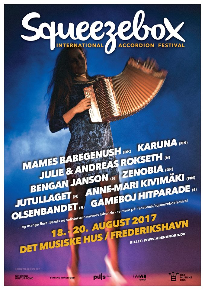 8. Squeezebox International Accordion festival